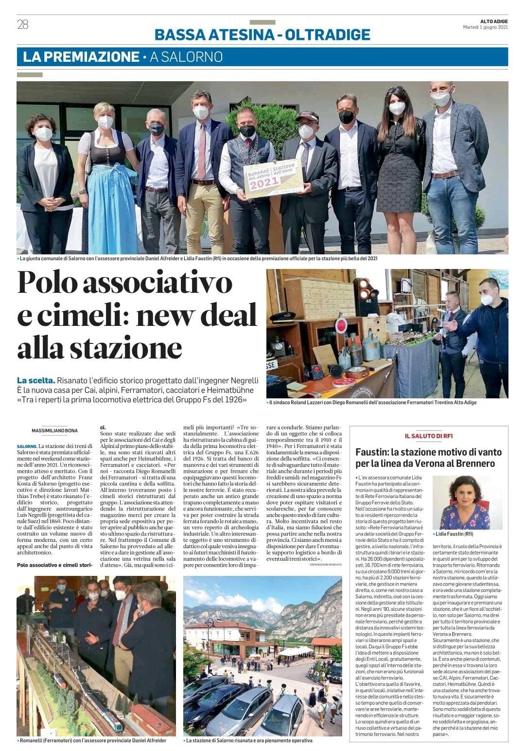 Alto Adige 1-6-2021